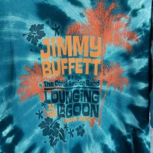 Jimmy Buffett Tour T Shirt 2012 XL Lounging Lagoon